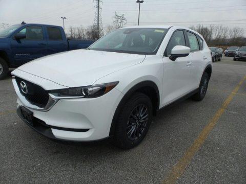 Snowflake White Pearl Mica 2019 Mazda CX-5 Sport AWD
