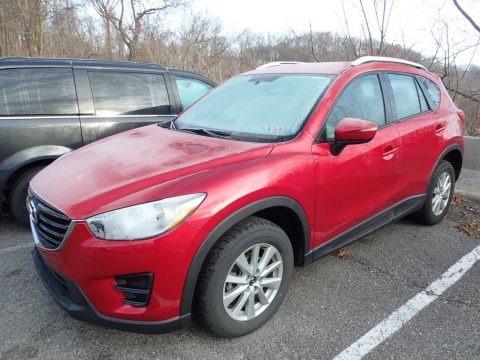 Soul Red Metallic 2016 Mazda CX-5 Sport AWD