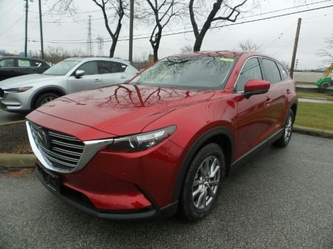 Soul Red Crystal Metallic 2019 Mazda CX-9 Touring AWD