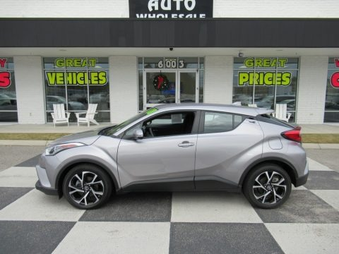 Silver Knockout Metallic 2018 Toyota C-HR XLE
