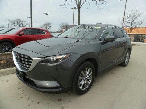 Machine Gray Metallic 2019 Mazda CX-9 Touring AWD