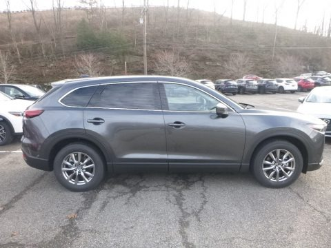 Machine Gray Metallic 2019 Mazda CX-9 Touring AWD