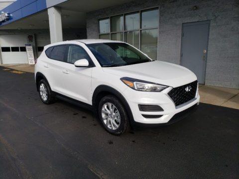 Dazzling White 2019 Hyundai Tucson SE AWD