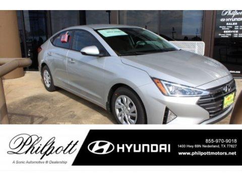 Symphony Silver 2019 Hyundai Elantra SE