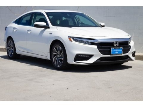 White Orchid Pearl 2019 Honda Insight Touring
