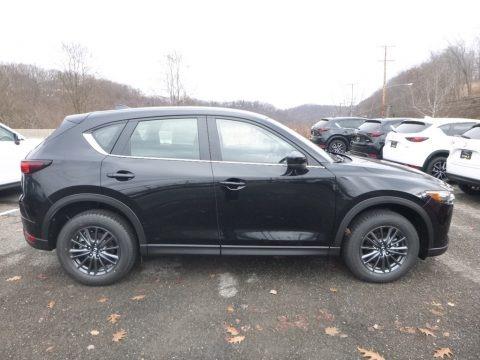 Jet Black Mica 2019 Mazda CX-5 Sport AWD
