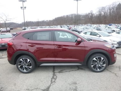 Gemstone Red 2019 Hyundai Tucson Sport AWD