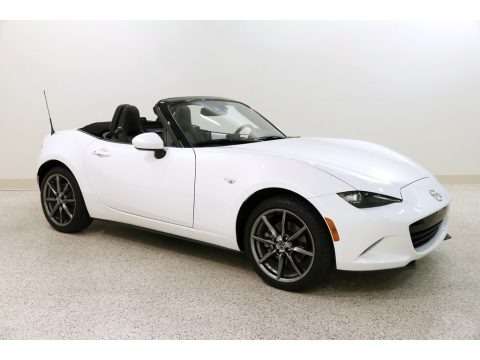 Crystal Pearl White Mica 2017 Mazda MX-5 Miata Grand Touring