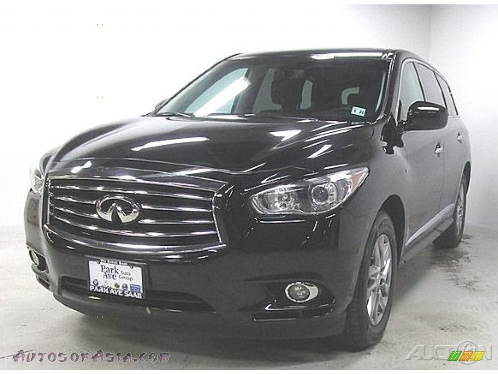 Black Obsidian / Wheat Infiniti QX60 3.5 AWD