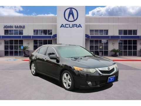 Crystal Black Pearl 2009 Acura TSX Sedan