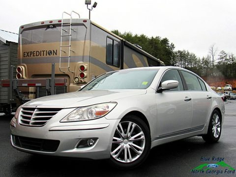 Platinum Metallic 2011 Hyundai Genesis 4.6 Sedan