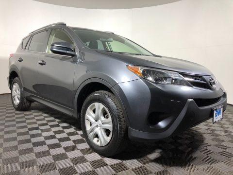 Magnetic Gray Metallic 2015 Toyota RAV4 LE