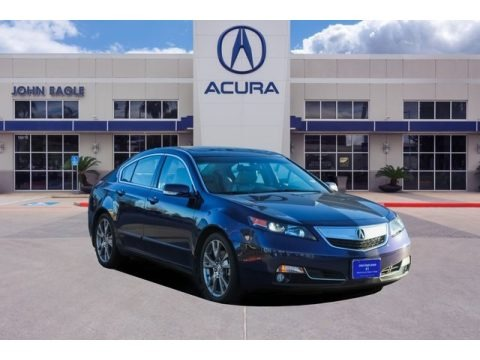 Fathom Blue Pearl 2013 Acura TL SH-AWD Advance