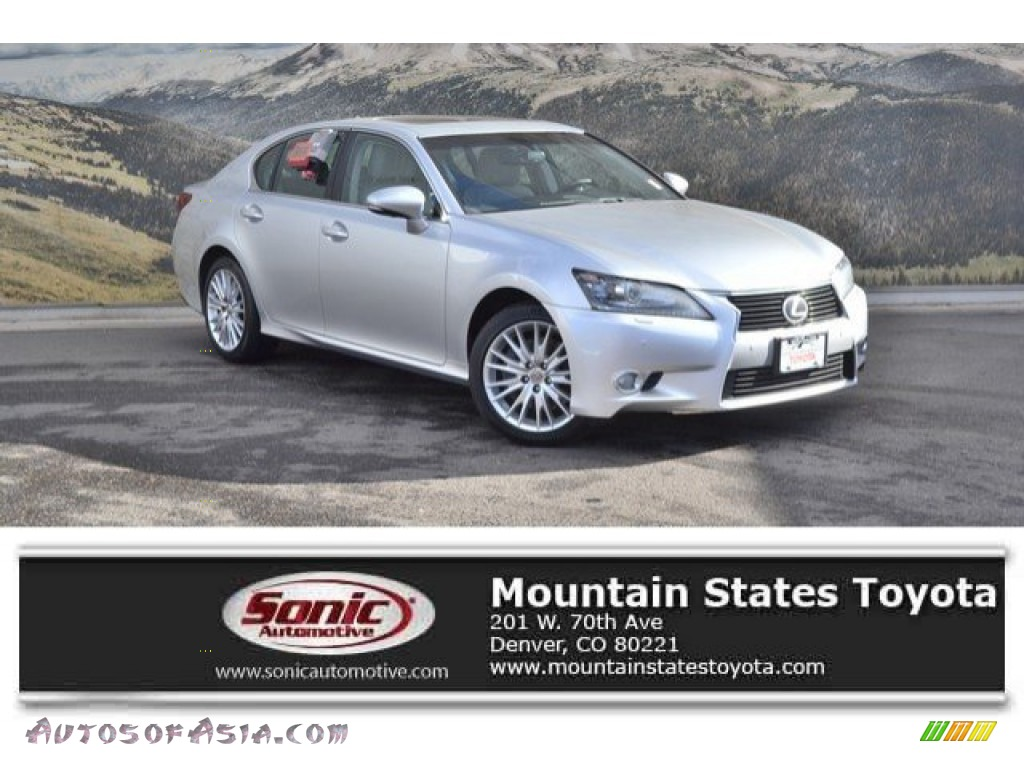 2013 GS 350 AWD - Liquid Platinum / Light Gray photo #1