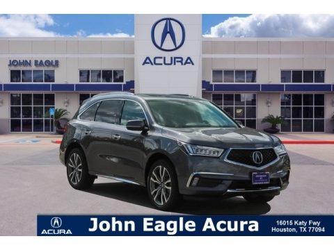 Modern Steel Metallic 2019 Acura MDX Advance SH-AWD