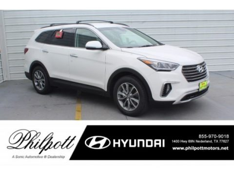 Monaco White 2019 Hyundai Santa Fe XL SE