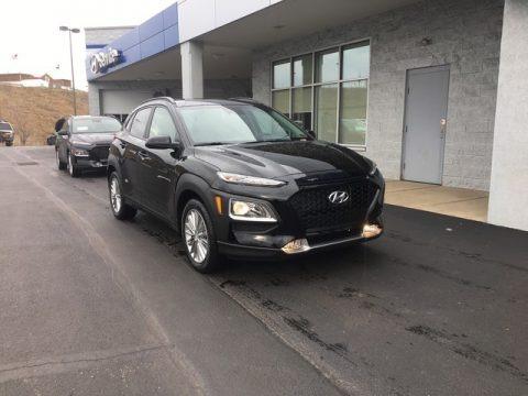 Ultra Black 2019 Hyundai Kona SEL AWD