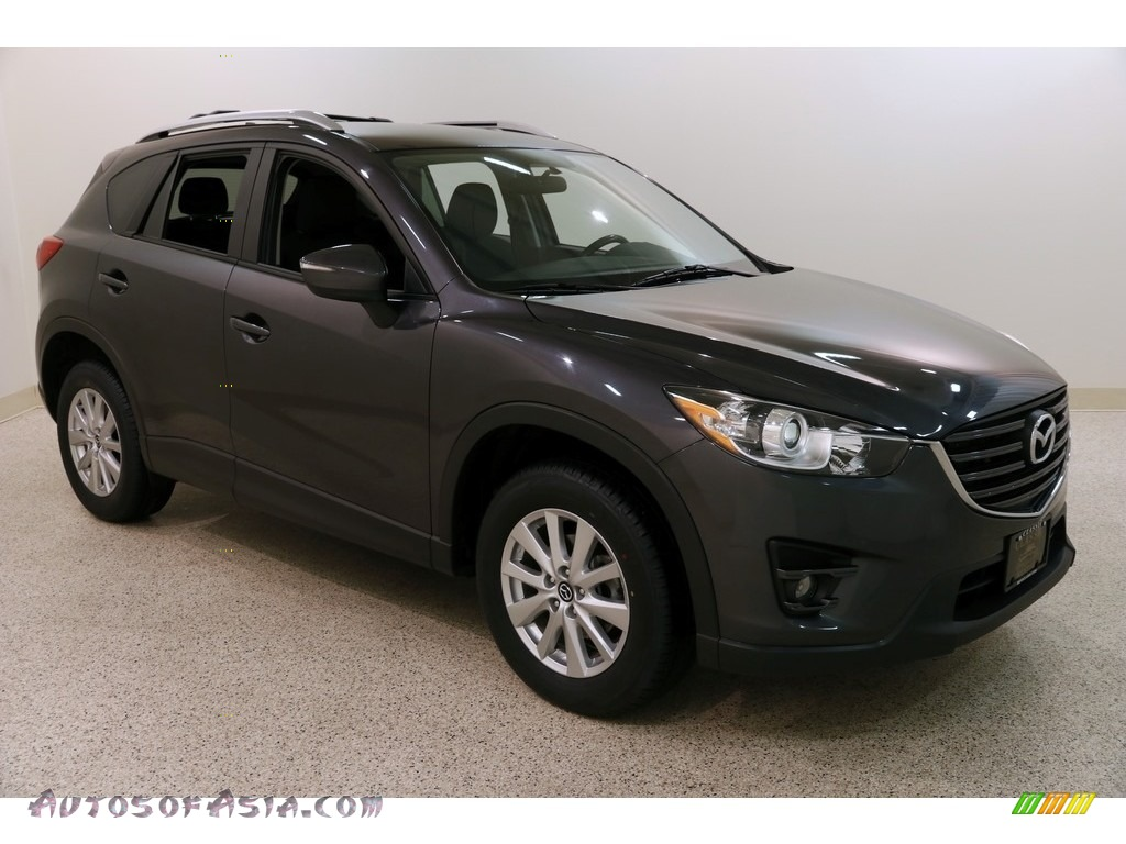 2016 CX-5 Touring AWD - Meteor Gray Mica / Black photo #1