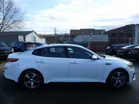 Snow White Pearl 2019 Kia Optima S