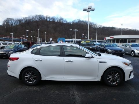 Snow White Pearl 2019 Kia Optima LX