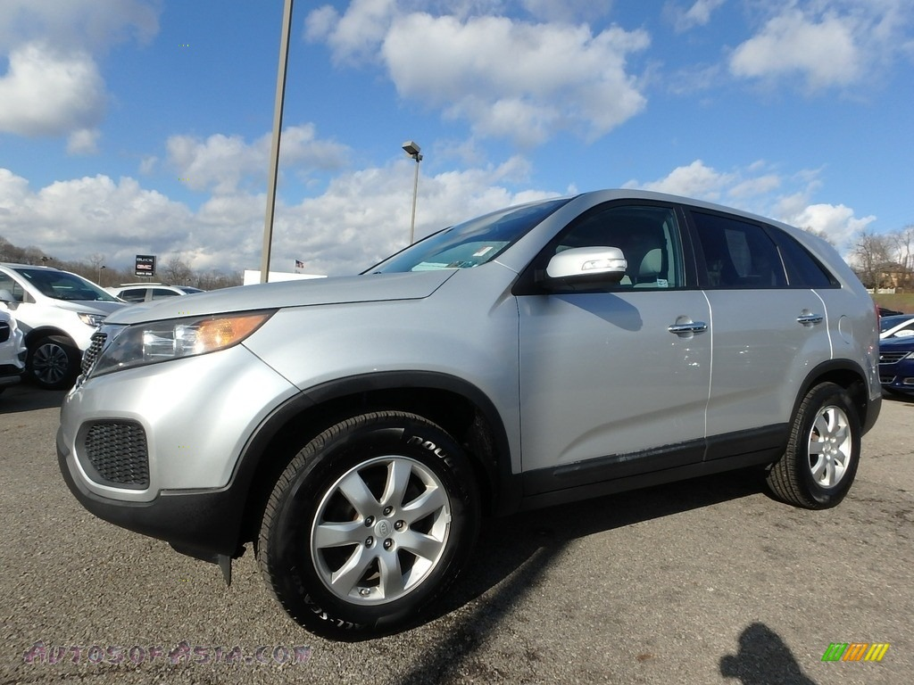 2011 Sorento LX - Bright Silver / Gray photo #1
