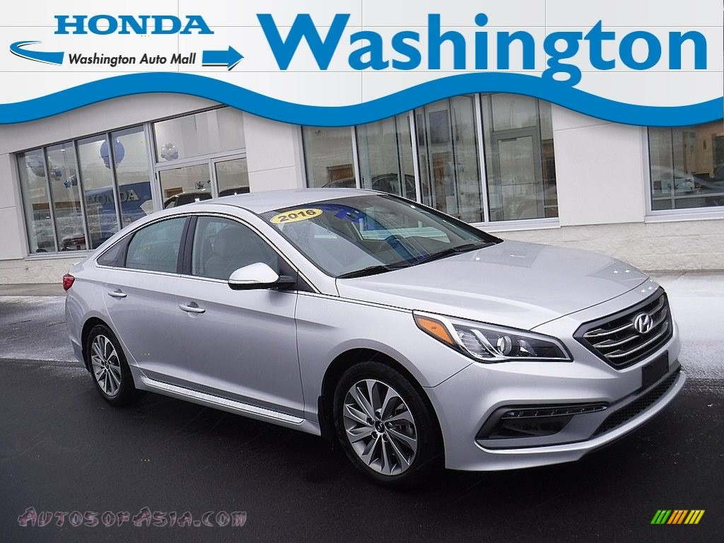2016 Sonata Sport - Symphony Silver / Gray photo #1