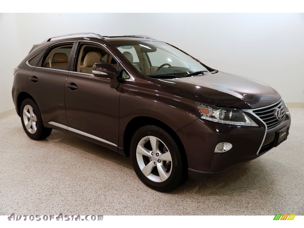 2014 RX 350 AWD - Fire Agate Pearl / Parchment photo #1