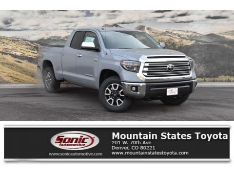 Cement 2019 Toyota Tundra Limited Double Cab 4x4