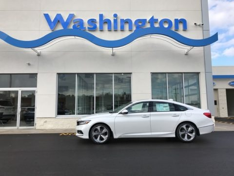 Platinum White Pearl 2019 Honda Accord Touring Sedan