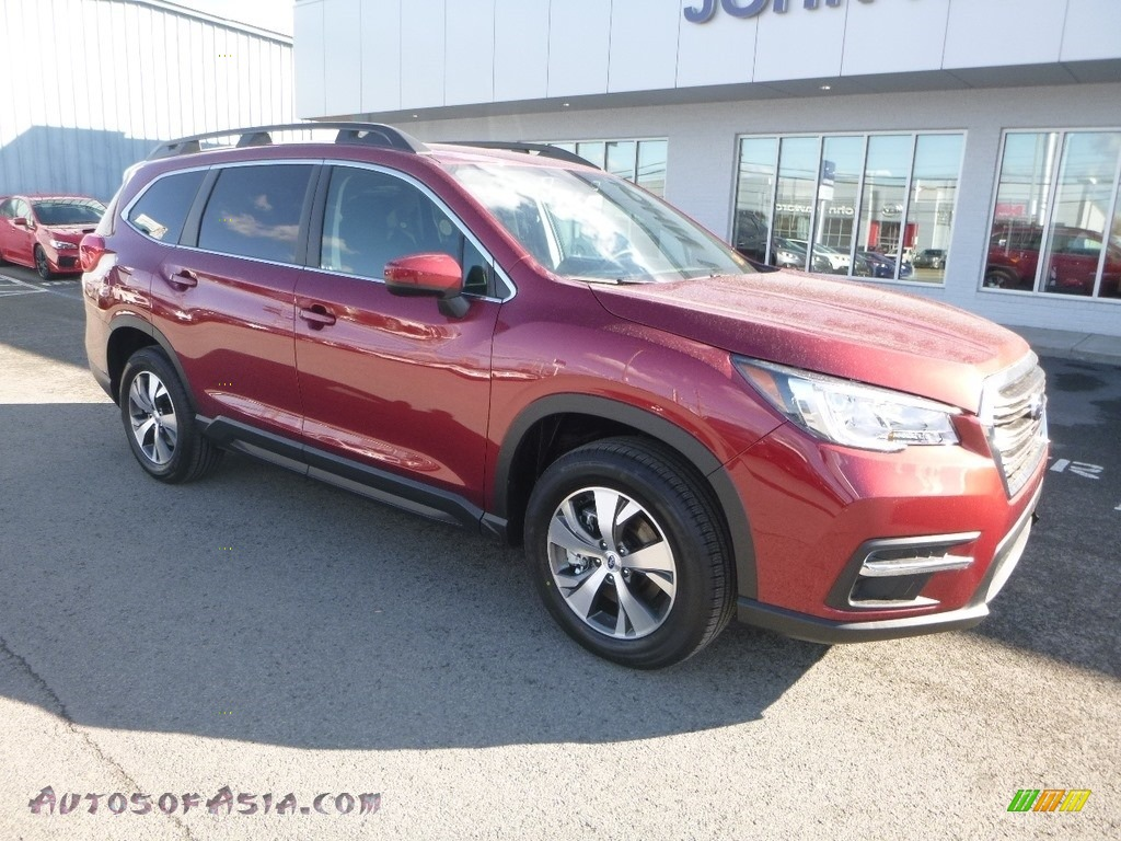 2019 Ascent Premium - Crimson Red Pearl / Slate Black photo #1