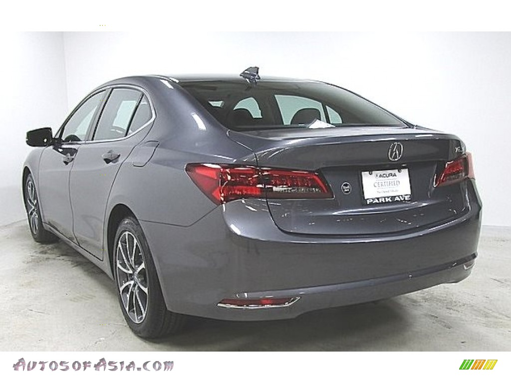 Modern Steel Metallic / Ebony Acura TLX V6 Technology Sedan