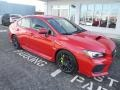 Subaru WRX STI Pure Red photo #1