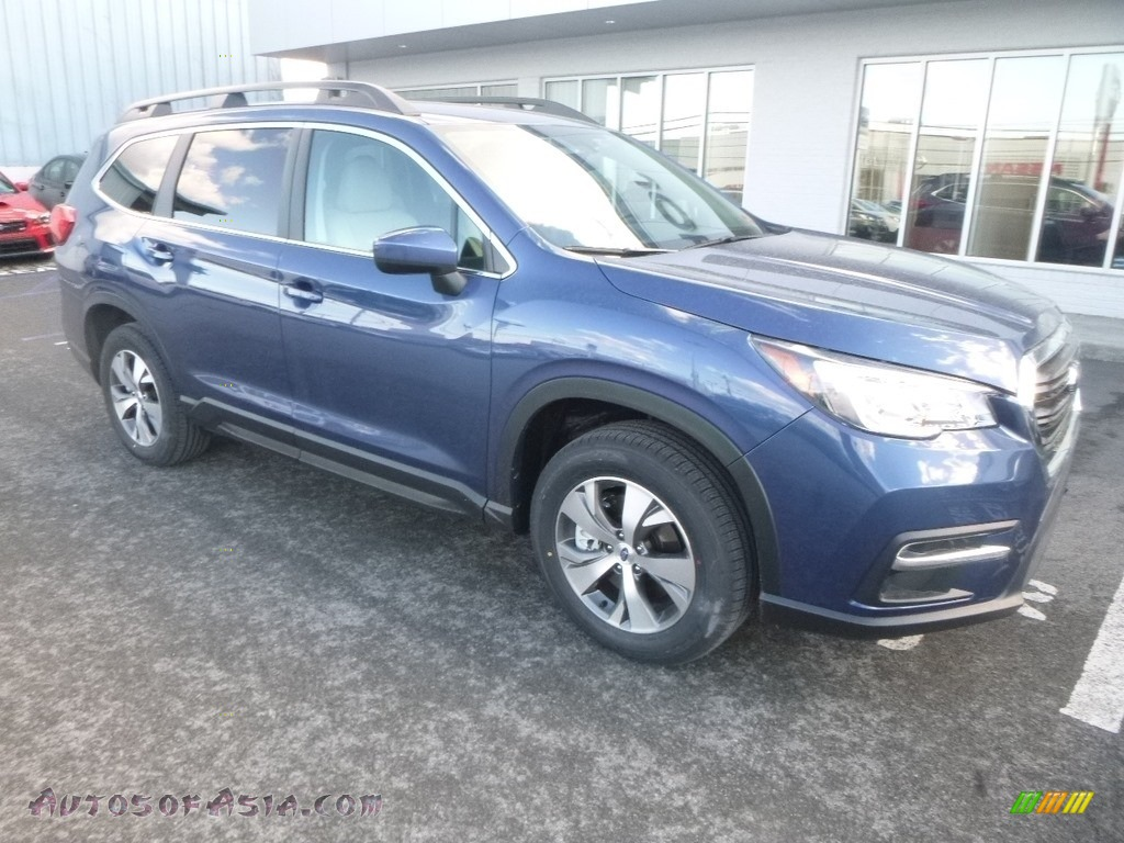 2019 Ascent Premium - Abyss Blue Pearl / Warm Ivory photo #1