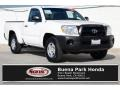 Toyota Tacoma Regular Cab Super White photo #1