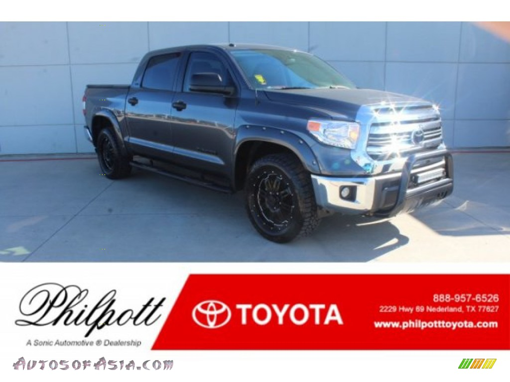 2017 Tundra SR5 CrewMax - Silver Sky Metallic / Black photo #1