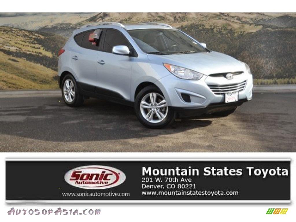 2011 Tucson GLS AWD - Aurora Blue / Taupe photo #1