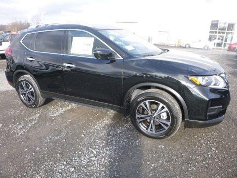 Magnetic Black 2019 Nissan Rogue SV AWD