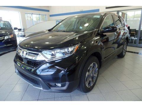 Crystal Black Pearl 2019 Honda CR-V EX AWD