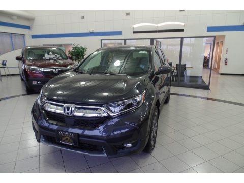 Gunmetal Metallic 2019 Honda CR-V EX AWD