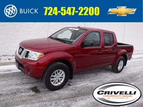Cayenne Red 2017 Nissan Frontier SV Crew Cab 4x4