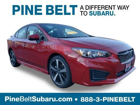 Lithium Red Pearl 2019 Subaru Impreza 2.0i Sport 4-Door