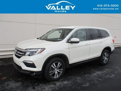 White Diamond Pearl 2016 Honda Pilot EX AWD