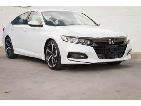 Platinum White Pearl 2019 Honda Accord Sport Sedan