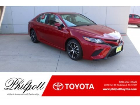 Ruby Flare Pearl 2019 Toyota Camry SE