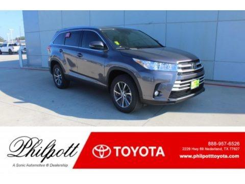 Predawn Gray Mica 2019 Toyota Highlander XLE