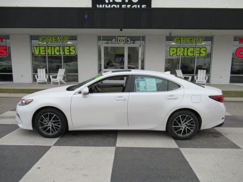 Eminent White Pearl 2018 Lexus ES 350