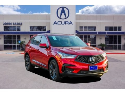 Performance Red Pearl 2019 Acura RDX A-Spec
