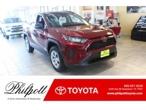 Ruby Flare Pearl 2019 Toyota RAV4 LE