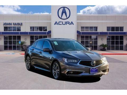 Modern Steel Metallic 2019 Acura TLX V6 Advance Sedan