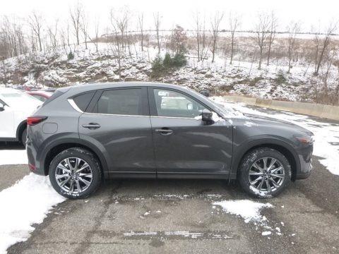 Machine Gray Metallic 2019 Mazda CX-5 Signature AWD